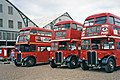 Buses at Chatham Historic Dockyard, Chatham, Kent - geograph.org.uk - 676976.jpg