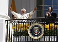 Bush and Benedictus 81st birthday 2008.jpg