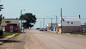 Hanley, Saskatchewan - Hanley's Business District