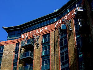Butler's Wharf - Tea Trade Wharf, an adjacent building in the Shad Thames area