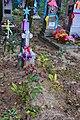 Butsyn Starovyzhivskyi Volynska-grave of soviet warrior Metkin.jpg