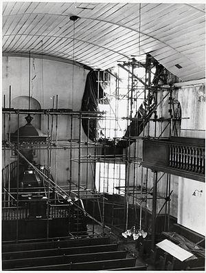 South African Sendinggestig Museum -  Restoration in progress c. 1978