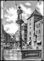 CH-NB - Schaffhausen, Landsknechtbrunnen, vue d'ensemble - Collection Max van Berchem - EAD-6969.tif