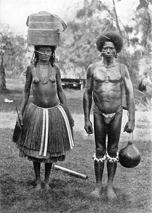 Dobu Island - Image: CHIEF GAGANAMOLE AND WIFE, DOBU