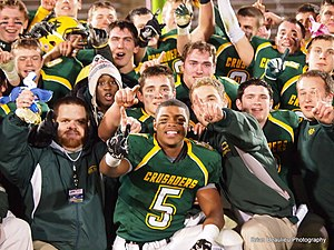 Holy Cross High School (Connecticut) - State Victory 2011