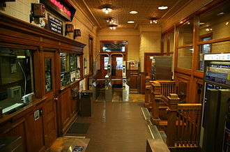 Quincy station (CTA) - Interior
