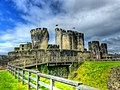 Caerphilly Castle Twisted Turret.jpg