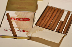 Cafe Creme Cigars Blue Vs Yellow