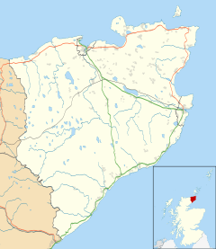 RAF Castletown is located in Caithness