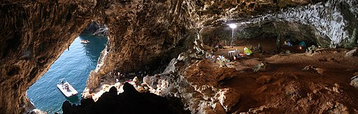 Cala dei Santi - Palaeolithic Cave