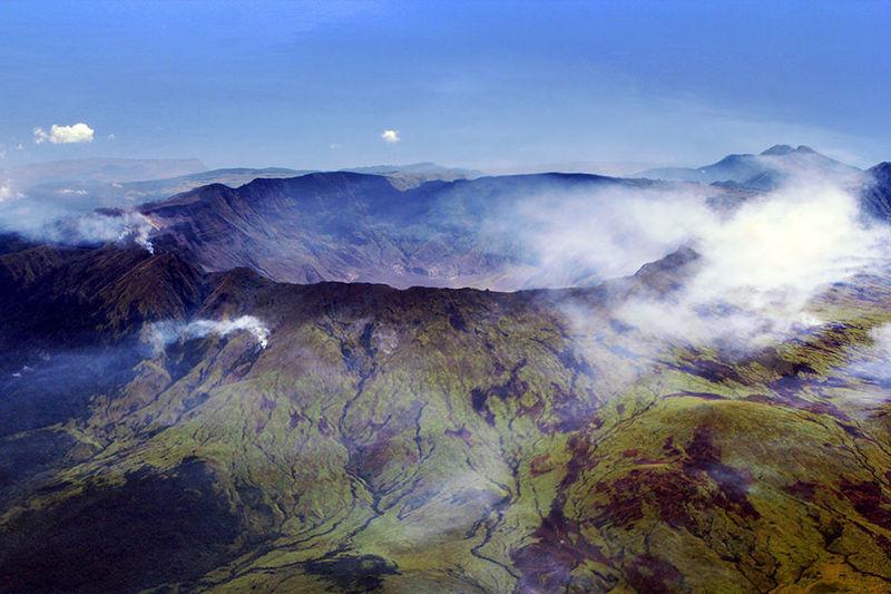 Gunung Tambora di Sumbawa