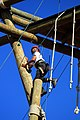 California Military Institute fifth grader Camila Arevalo climbs the Alpine Tower.jpg