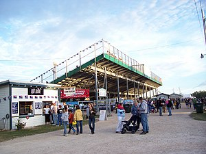 Calumet County, Wisconsin - Grandstands during the 2006 Calumet County Fair