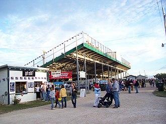 Calumet County, Wisconsin - Grandstands during the 2006 Calumet County Fair