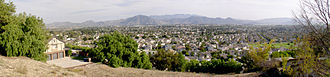 Camarillo, California - A panoramic view of Camarillo looking southeast