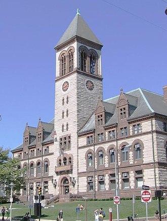 Cambridge, Massachusetts City Hall - Cambridge, Massachusetts City Hall.