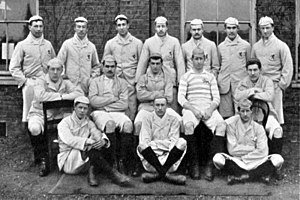 William Henry Thorman - Cambridge University 1890 team, Thorman back row, third from right