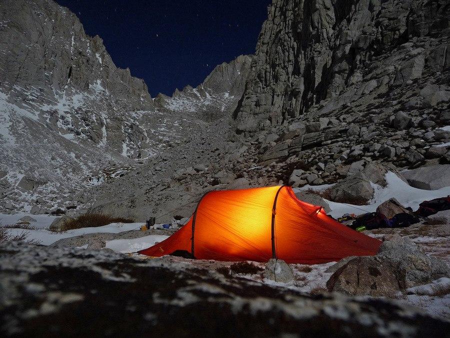 Camping at Upper Boyscout Lake