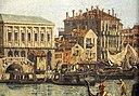 Каналетто, il molo visto dal bacino di san marco, 1730 ок.  05.JPG