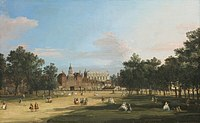 Canaletto - A View of the Old Horse Guards and Banqueting Hall, from St James's Park.jpg