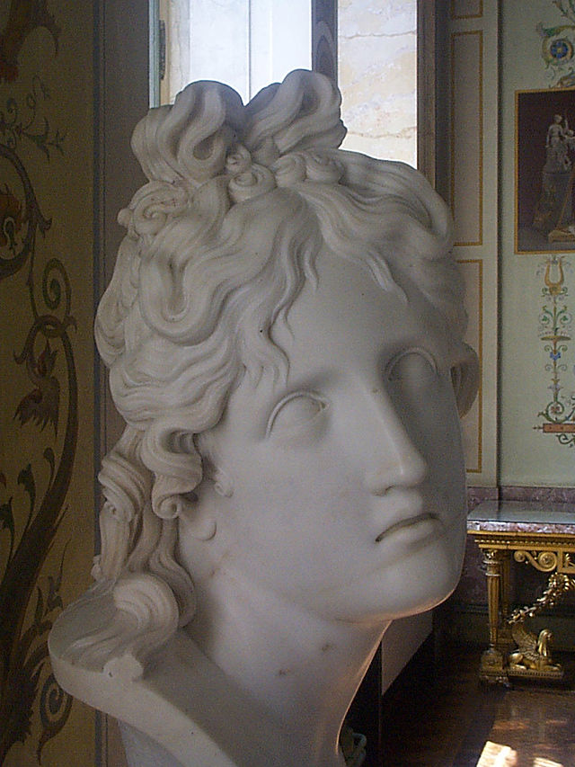 From commons.wikimedia.org: Canova-Genius of Death 45degree view {MID-174767}