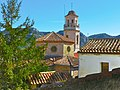 Capafonts, església des de dalt de la vila - panoramio.jpg