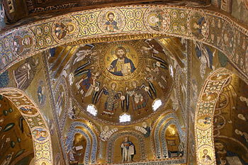 Dome of the Cappella Palatina