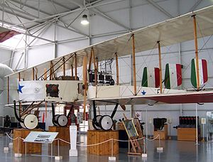 Caproni Ca.3 - Ca.3 at Italian Air Force Museum, 2009