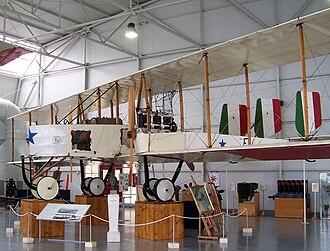 Caproni Ca.3 - Ca.3 at Italian Air Force Museum, 2009