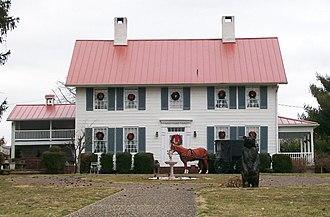 Belpre, Ohio - Belpre's oldest house, built in 1799