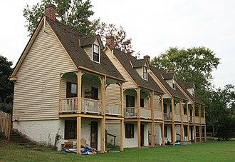 Captain's Houses - Captain's Houses, September 2008