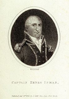 Henry Inman (Royal Navy officer) British Royal Navy officer during the late eighteenth and early nineteenth centuries, serving in the American Revolutionary War, the French Revolutionary Wars and the Napoleonic Wars