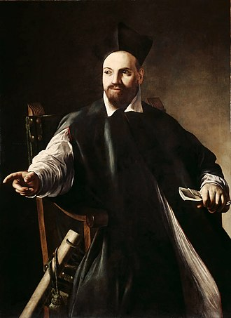Pope Urban VIII - C. 1598 painting of Maffeo Barberini at age 30 by Caravaggio