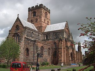 Edmund Law - Law was buried in Carlisle cathedral
