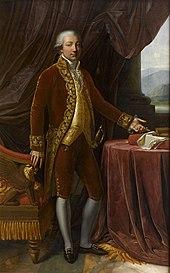 Carlo Buonaparte, der Vater (Gemälde von Anne-Louis Girodet-Trioson, 1806) (Quelle: Wikimedia)