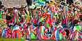 Carnaval de Santa Cruz de Tenerife, assembling participants.jpg