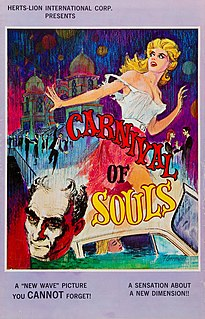 <i>Carnival of Souls</i> 1962 film by Herk Harvey