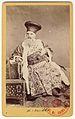 Carol Popp de Szathmáry - Matei Millo în costum de teatru, costum de mare boier fanariot din piesa Prăpăstiile Bucureştiului.jpg