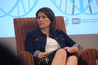 Carolyn Hax - Carolyn Hax in a program at the NHGRI in 2014