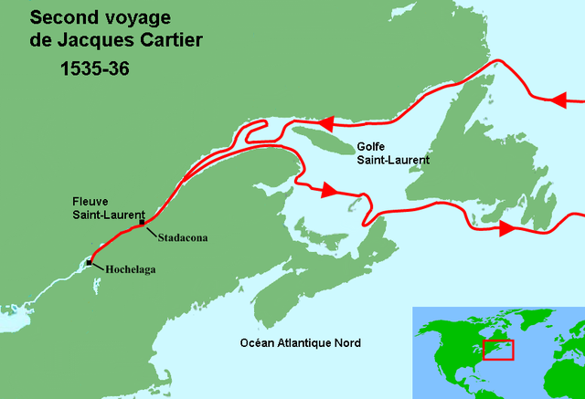 a historical look at the french voyages of jacques cartier Today, canada recognises french as an official language along with  as many  of you will know canada and parts of the united states have historical ties to  france today  cartier's voyage occurred during the 'age of discovery' in the  fifteenth century  cartier was not the last person to go looking for it.