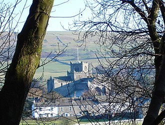 Lower Allithwaite - Image: Cartmel Priory geograph.org.uk 267668