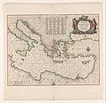 Cartografie in Nederland, zeekaart van het oostelijk deel van de Middellandse zee, NG-501-52.jpg
