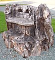 Carved seat, Pontrobert - geograph.org.uk - 591851.jpg