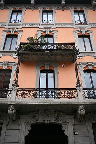File Casa Valli Via Bernardino Zenale 13 Milano Veduta