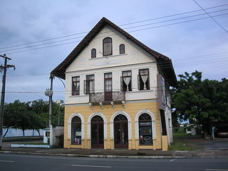 Joinville - A typical German house in Joinville, built in 1921 by the butcher Otto Schroeder, son of German immigrants.