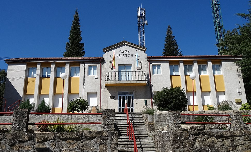 Casa do concello Baños de Molgas