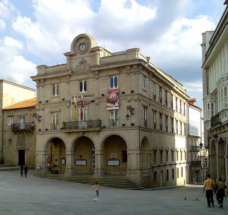 Casa do concello de Ourense