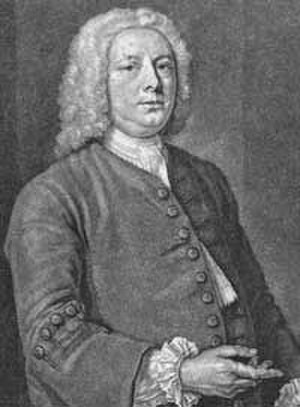 Caslon - William Caslon in an engraved portrait by John Faber the younger