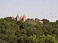 Castelo de Stanta Maria da Feira ao longe.jpg