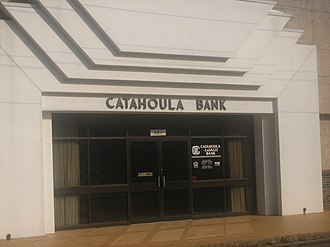 Jonesville, Louisiana - Image: Catahoula Bank in Jonesville Louisiana